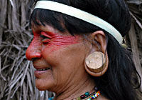 Native with Pierced Ears